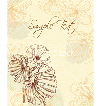 Free floral background vector - Free vector #241517