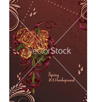 Free floral background vector - Free vector #241817