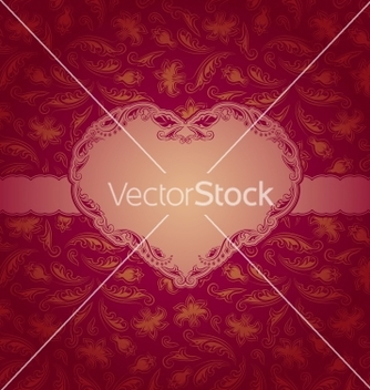 Free template frame design for greeting card vector - Free vector #242307