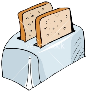 Free toaster vector - Free vector #242347