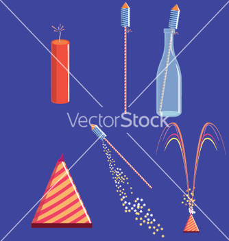 Free fire crackers vector - Free vector #242587