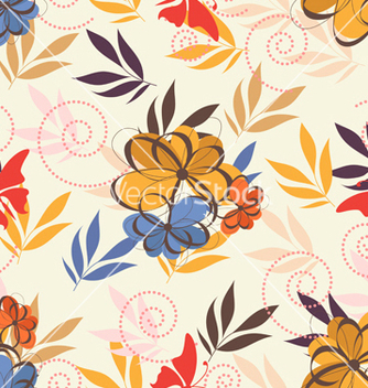 Free seamless paisley pattern vector - vector #242777 gratis