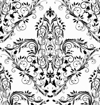 Free victorian seamless pattern vector - Kostenloses vector #242837