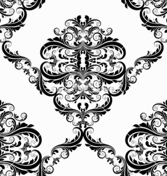 Free victorian seamless pattern vector - Kostenloses vector #242847