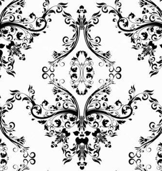 Free victorian seamless pattern vector - Kostenloses vector #242857