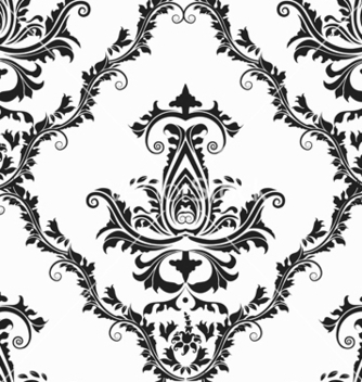 Free victorian seamless pattern vector - Kostenloses vector #242947