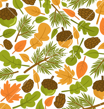 Free forest pattern vector - бесплатный vector #243477