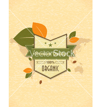 Free eco friendly label vector - Kostenloses vector #243527