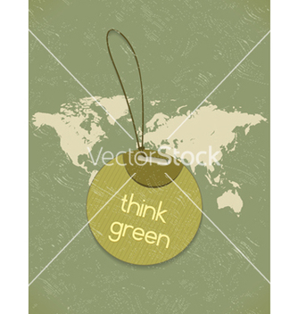 Free eco friendly shopping tag vector - Kostenloses vector #243547