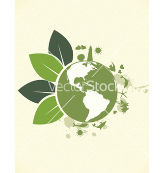 Free eco friendly design vector - Kostenloses vector #243687