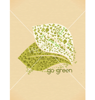 Free eco friendly design vector - Kostenloses vector #243697