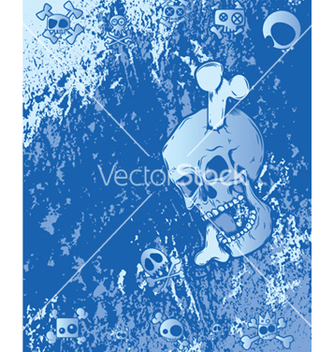 Free emo background with skulls vector - vector #243887 gratis