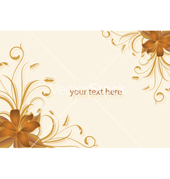 Free floral background vector - бесплатный vector #244277
