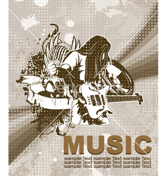 Free concert poster vector - Free vector #244747
