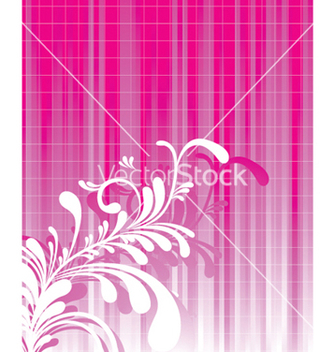 Free abstract floral background vector - Kostenloses vector #245447