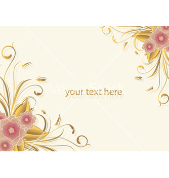 Free floral background vector - Free vector #245587