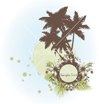 Free grunge summer frame vector - Free vector #245667