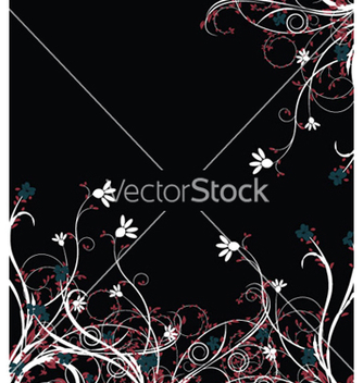 Free abstract floral background vector - Kostenloses vector #245787