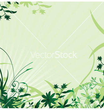 Free abstract spring floral background vector - Free vector #245837