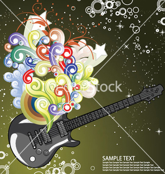 Free music wallpaper vector - Kostenloses vector #246137