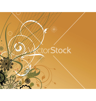 Free vintage floral background vector - Kostenloses vector #246737