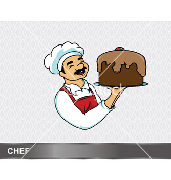 Free cartoon chef vector - бесплатный vector #246747