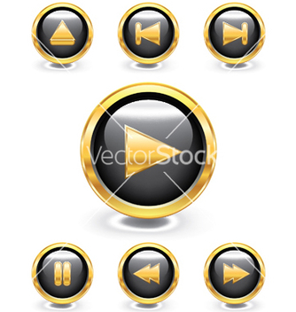 Free glossy buttons vector - Kostenloses vector #247407
