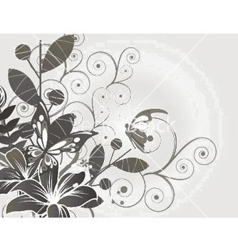Free spring floral background vector - Free vector #248027