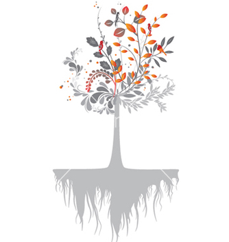 Free abstract tree vector - Free vector #248087