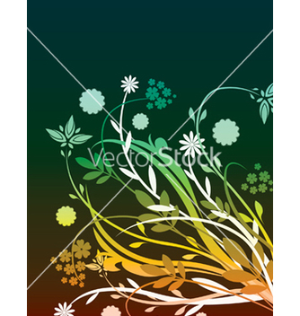 Free floral background vector - Free vector #248127