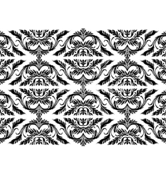 Free baroque seamless pattern vector - vector gratuit #248197
