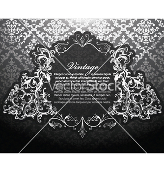 Free baroque floral ornament vector - бесплатный vector #248657