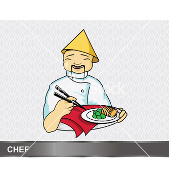 Free cartoon chef vector - бесплатный vector #248807