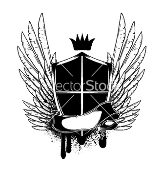 Free tshirt design with shield vector - Kostenloses vector #248897