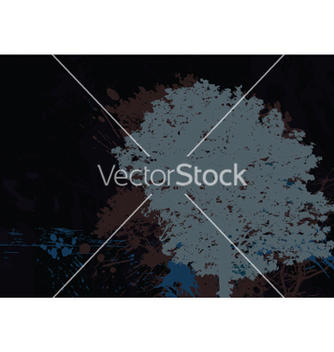 Free vintage background with tree vector - бесплатный vector #249007