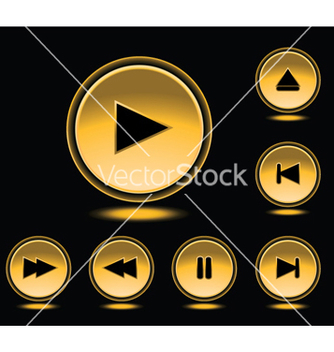 Free glossy buttons set vector - бесплатный vector #249067
