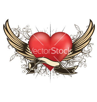 Free valentine emblem vector - Free vector #249107