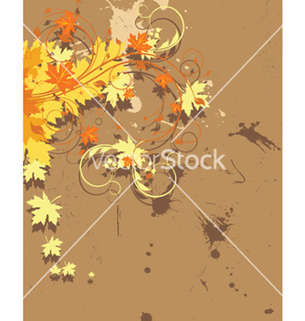 Free vintage floral background vector - Free vector #249247
