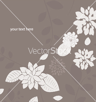 Free abstract floral background vector - Free vector #249377