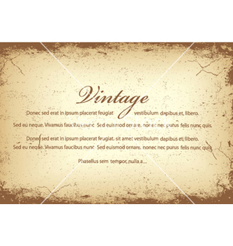 Free vintage background vector - Free vector #249677