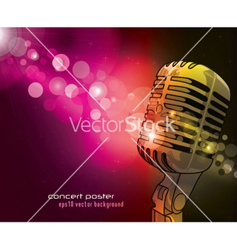 Free concert poster vector - Free vector #249737