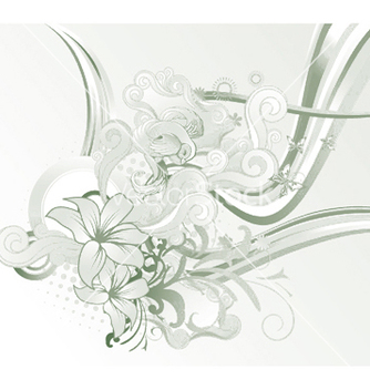 Free abstract floral vector - Kostenloses vector #249927