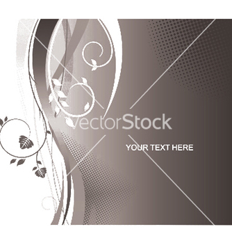 Free abstract floral wallpaper vector - Kostenloses vector #250357