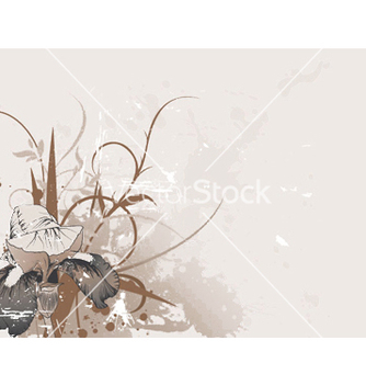 Free vintage floral background vector - Free vector #250597