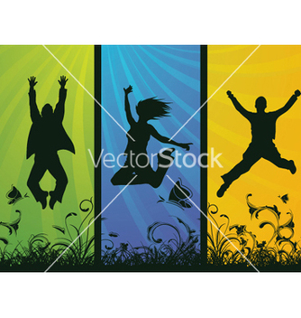 Free happy people vector - vector #250847 gratis