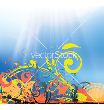 Free spring background vector - Kostenloses vector #251417
