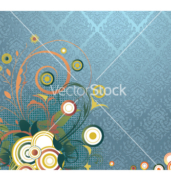 Free floral wallpaper vector - Free vector #251737