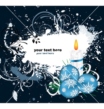 Free winter greeting card vector - vector #251957 gratis