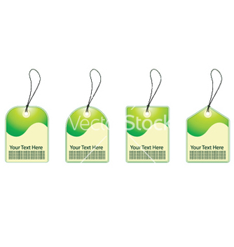 Free eco shopping tags vector - vector #252797 gratis