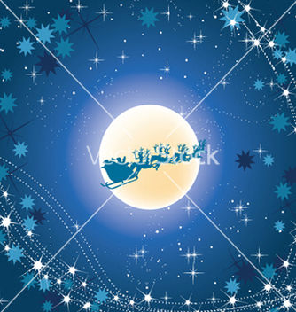 Free christmas greeting card vector - vector #252827 gratis